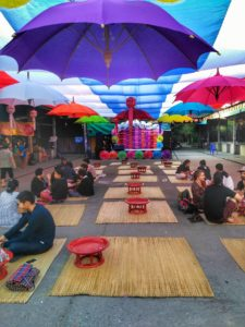 Umbrella Village in Chiang Mai - Food Court