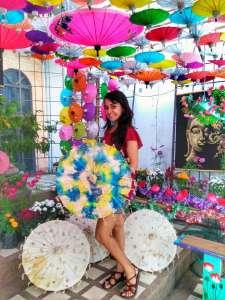 Bo Sang Umbrella Festival Chiang Mai, Thailand
