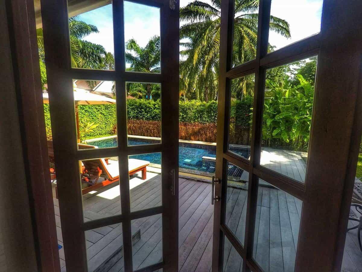 Alisea Pool Villa Krabi Family Resort - door to private pool