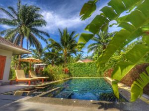 Alisea Pool Villa Ao Nang, Thailand - private yard