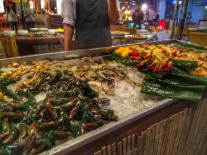 Ao Nang Cliff Beach -Seafood Dinner Buffet