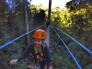 canopy bridge - Flight Of The Gibbon Chiang Mai