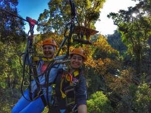 double zipline - Chiang Mai