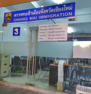 Chiang Mai Immigration,Promenada Mall - How to Apply For A ReEntry Permit