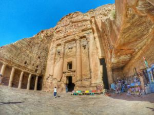 Is Petra worth visiting - Stone Facade, Jordan
