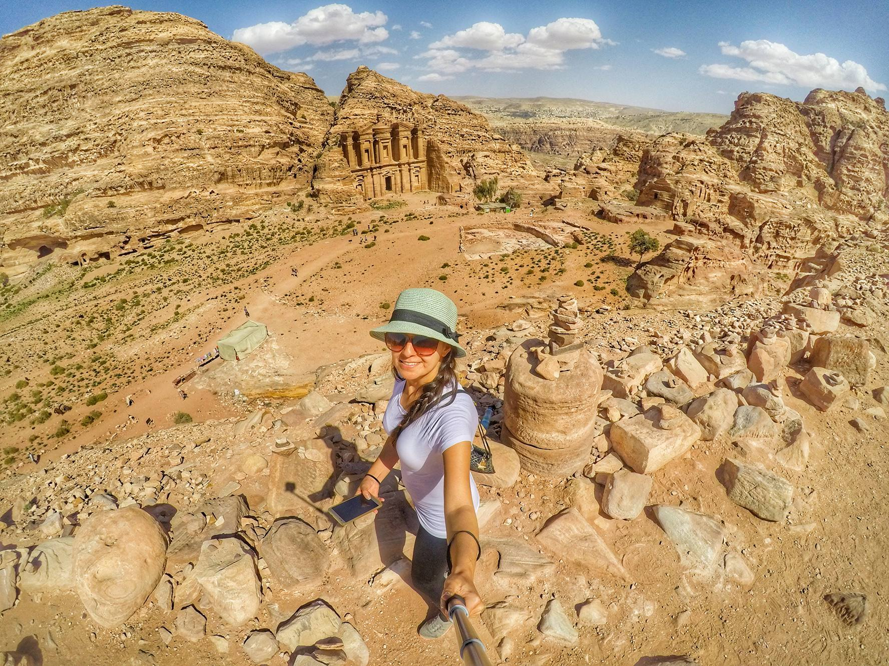 Is Petra worth visiting - view of Monestary, Jordan Travel