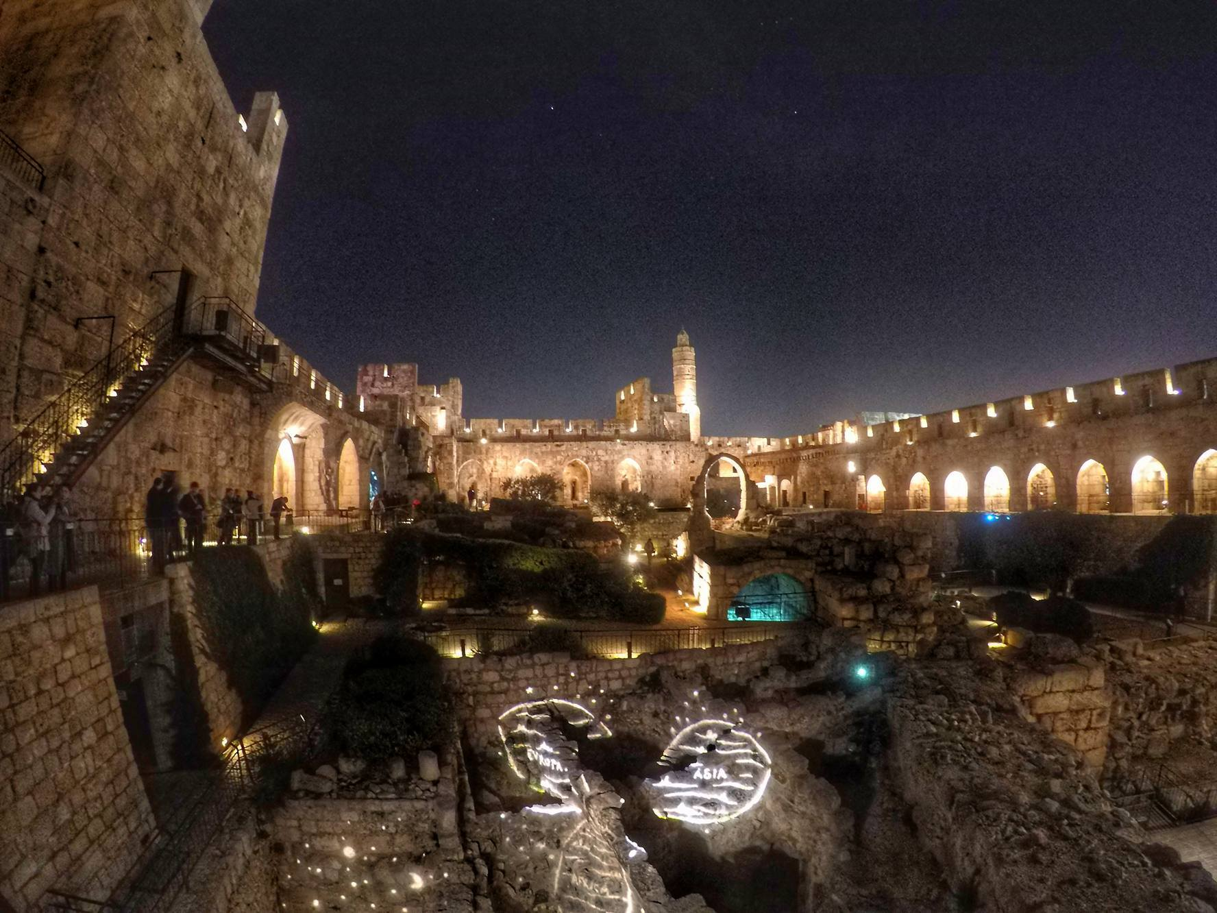 Tower Of David At Night - Top Old City Jerusalem Attractions