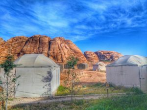 Yurt In Bedouin Camp - Petra Jordan Where to Stay