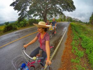 agriculture bike tour with local in Chiang Mai