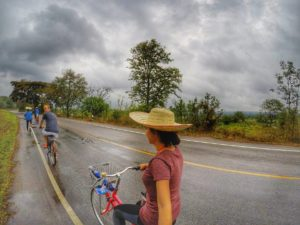 bicycle tour with local in Chiang Mai Thailand