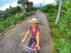 cycling tour of local area in Chiang Mai