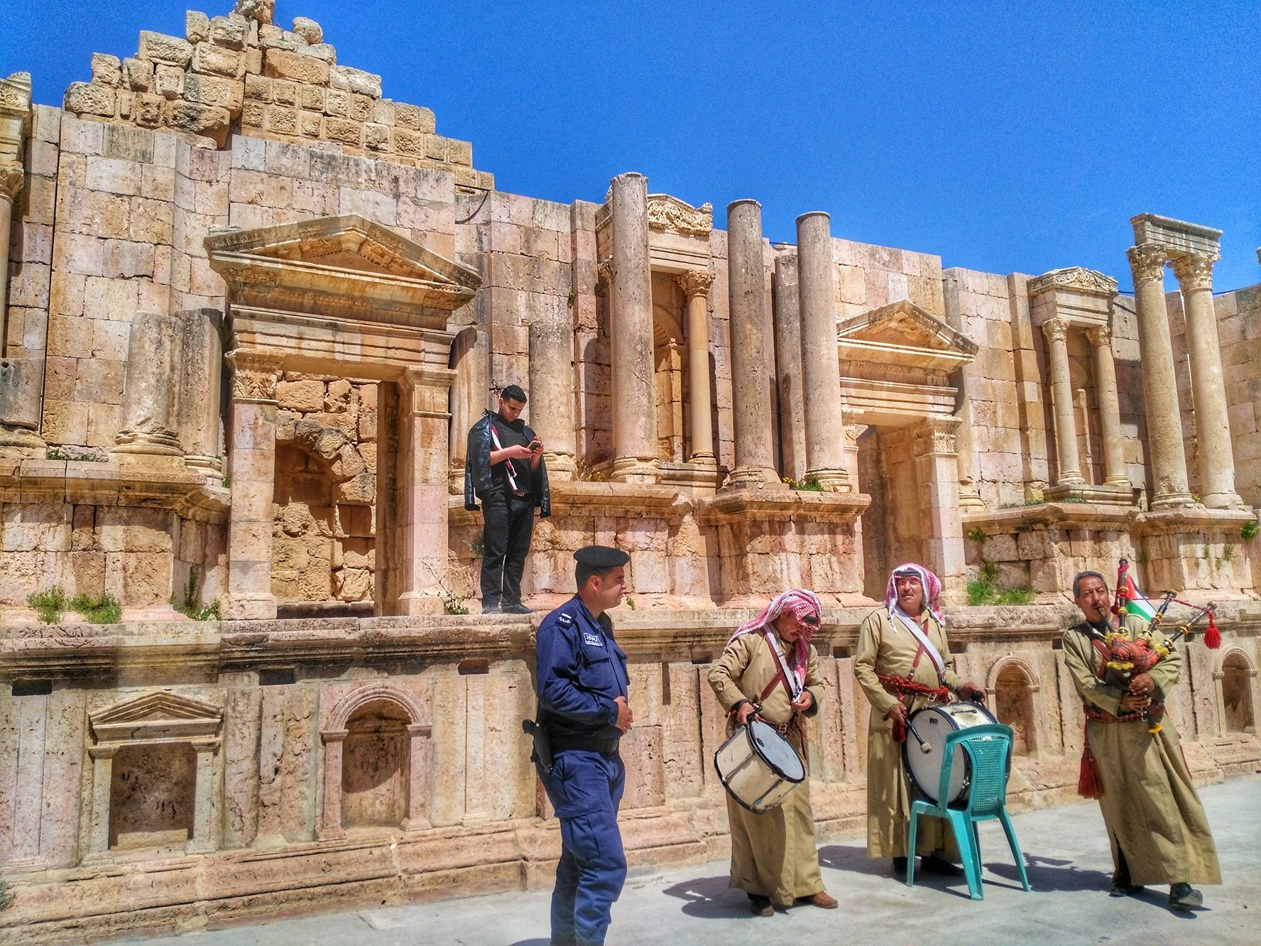 is Jordan safe for travel - Jerash Roman Ruins