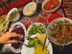 travel to Jordan SAFE - Jordanean food