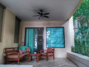 Crown Lanta Patio Image- Koh Lanta Best Place to Stay