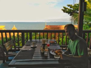 Crown Lanta Resort Breakfast - Koh Lanta Best Place to Stay