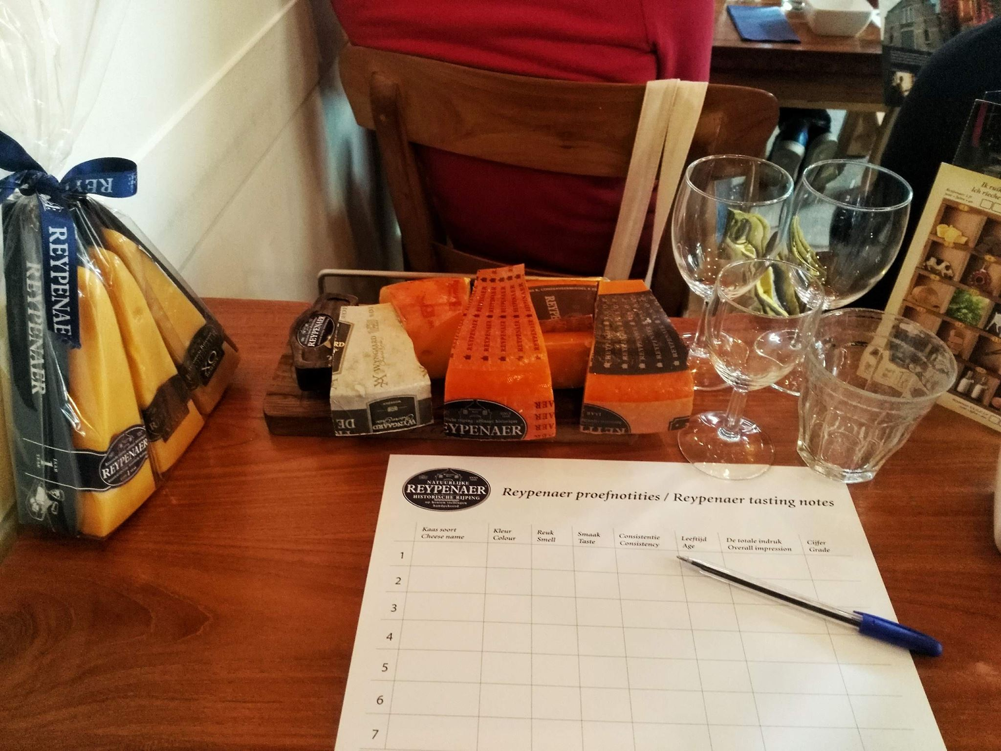 Reypenaer cheese tasting - things must do in Amsterdam