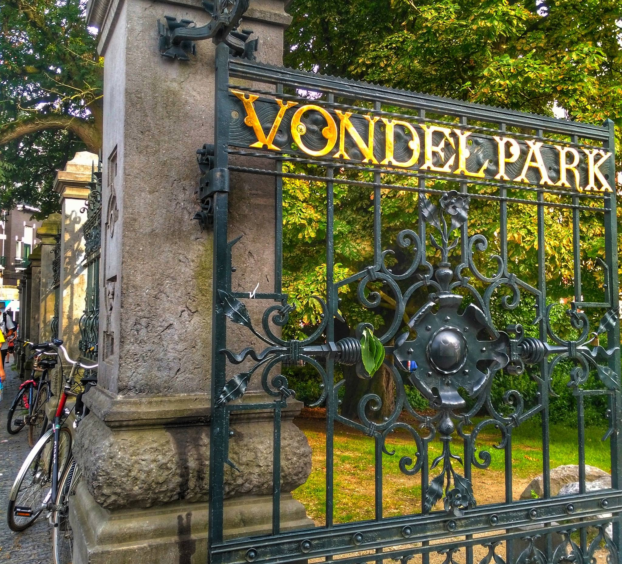 Vondelpark - must see Amsterdam Places