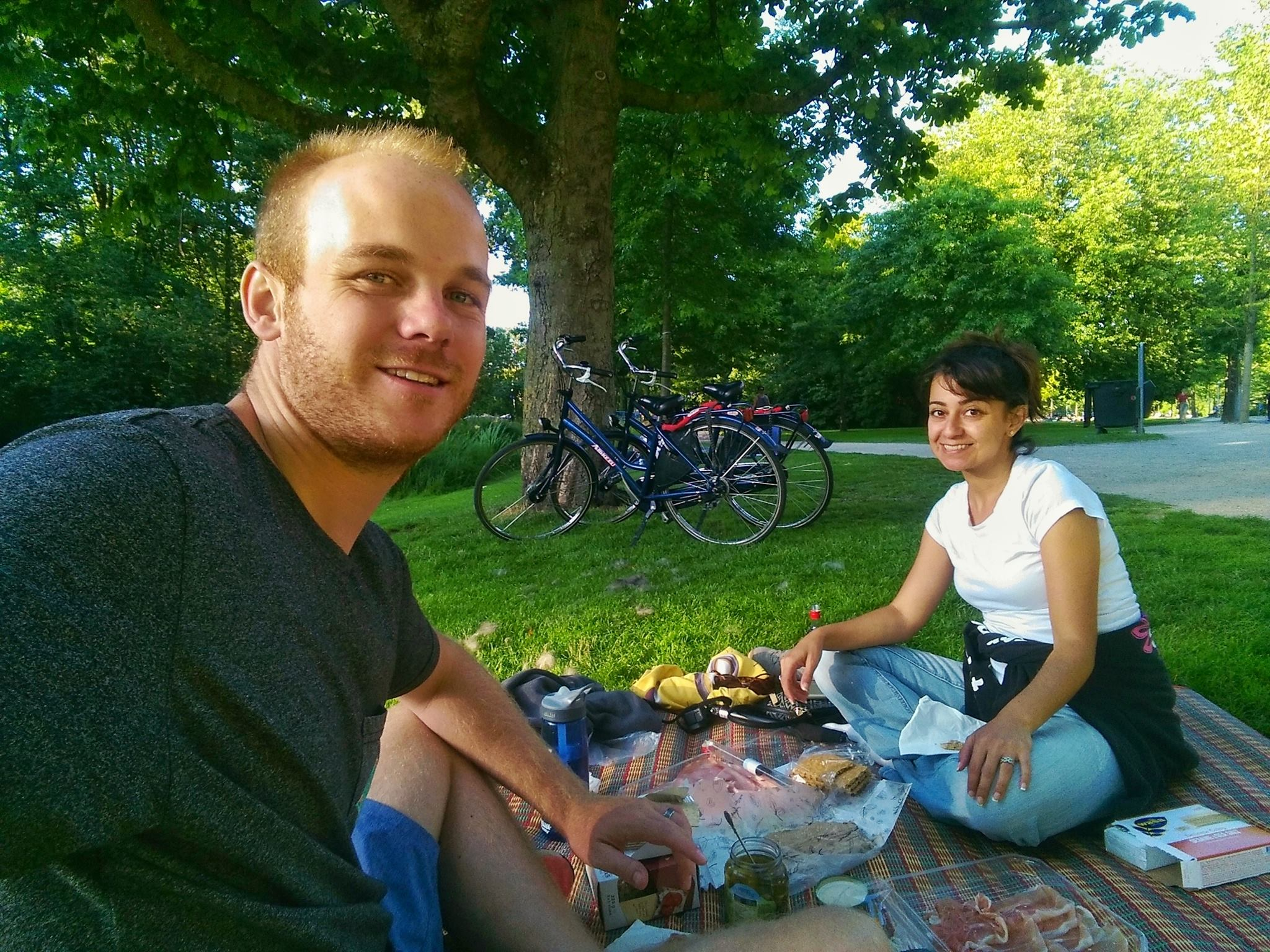 Vondelpark picnic - must do things in Amsterdam