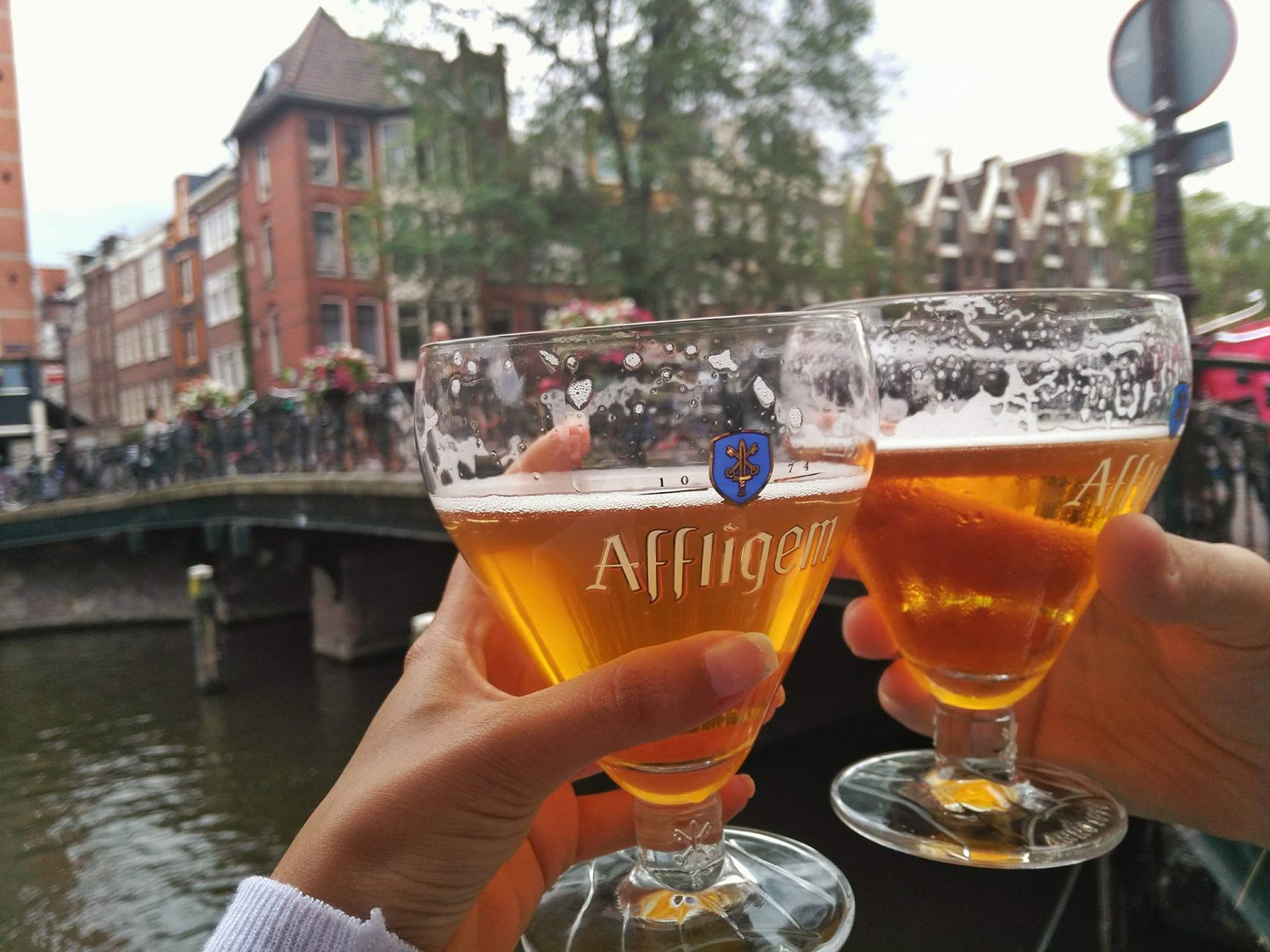 drinks by the canal - Must do things in Amsterdam