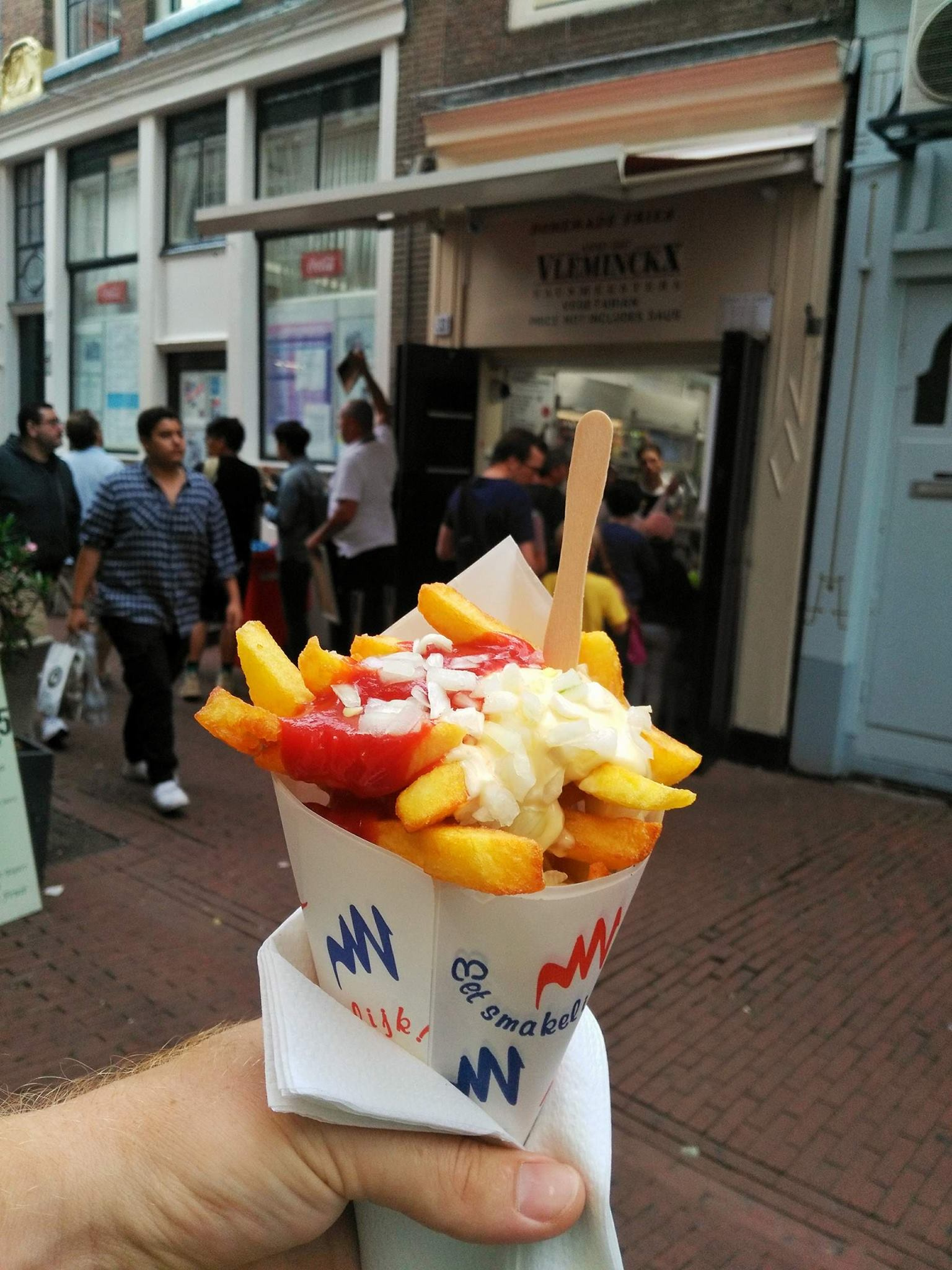 french fries - must eat Amsterdam