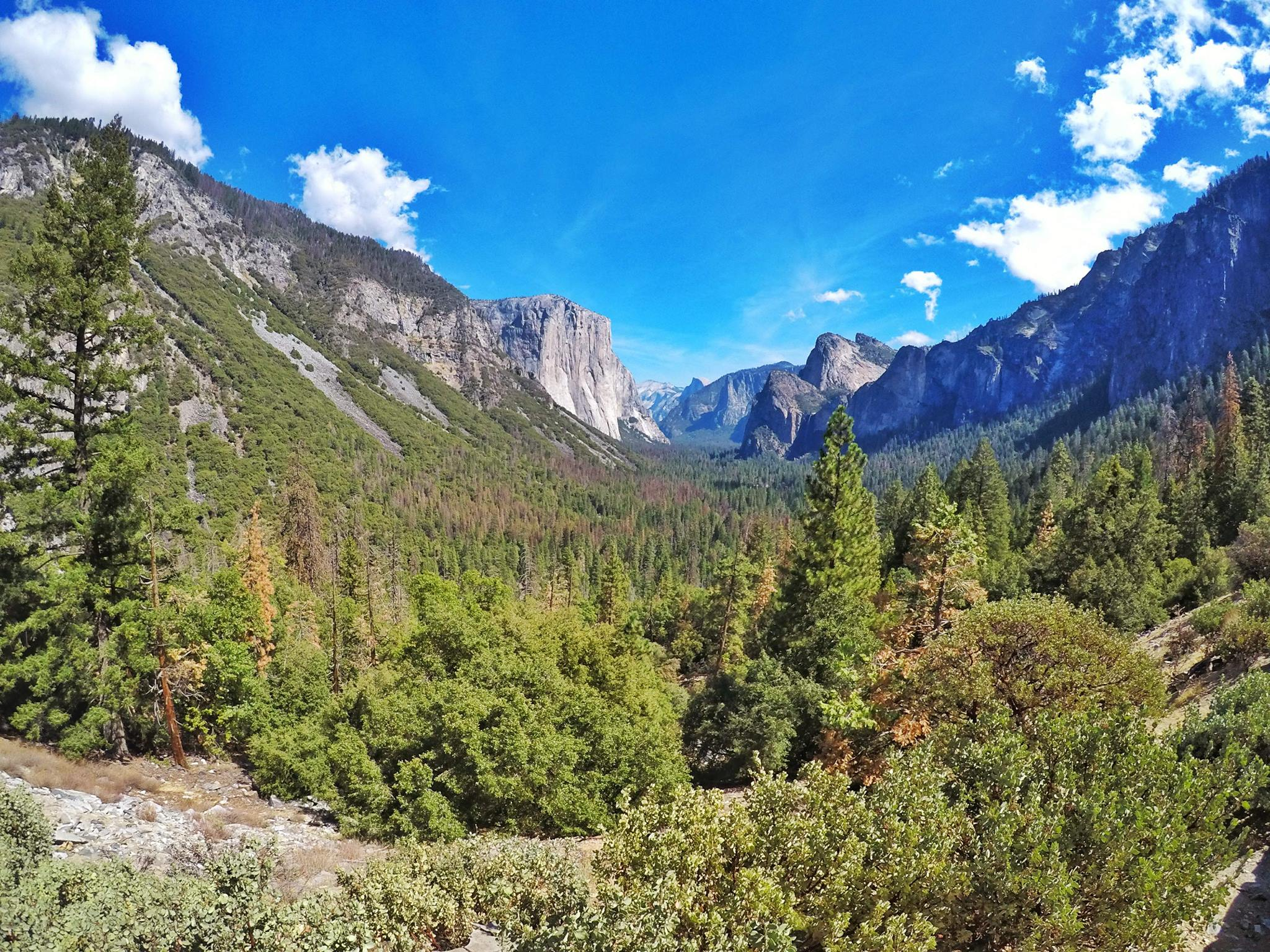 Yosemite itinerary - Must See Tunnel View