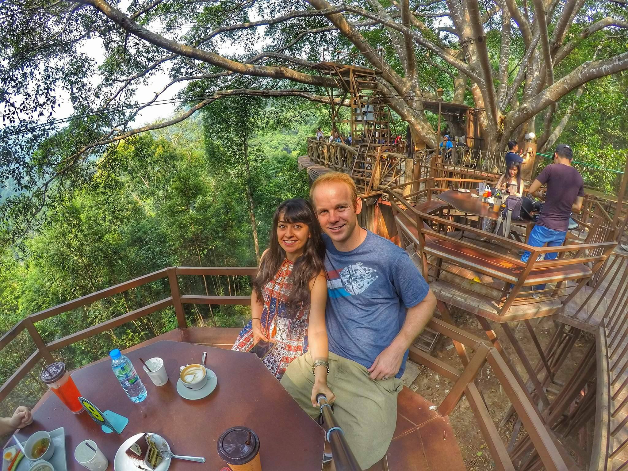 best things to do in Chiang Mai - Giant Tree Cafe