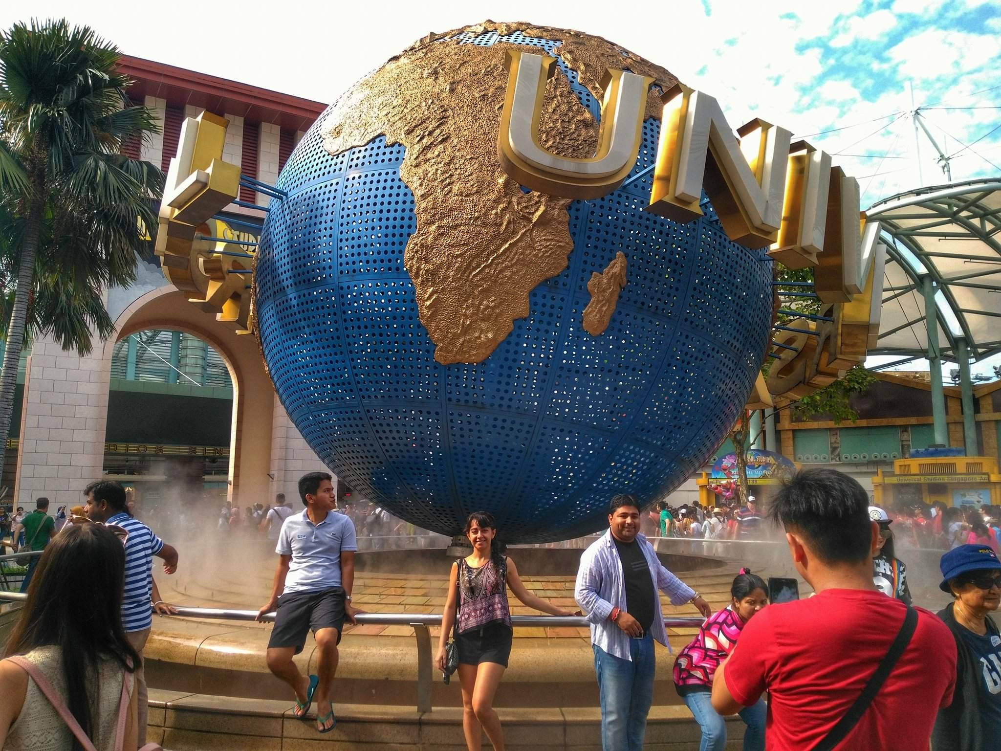 places to go in Singapore - Universal Studios