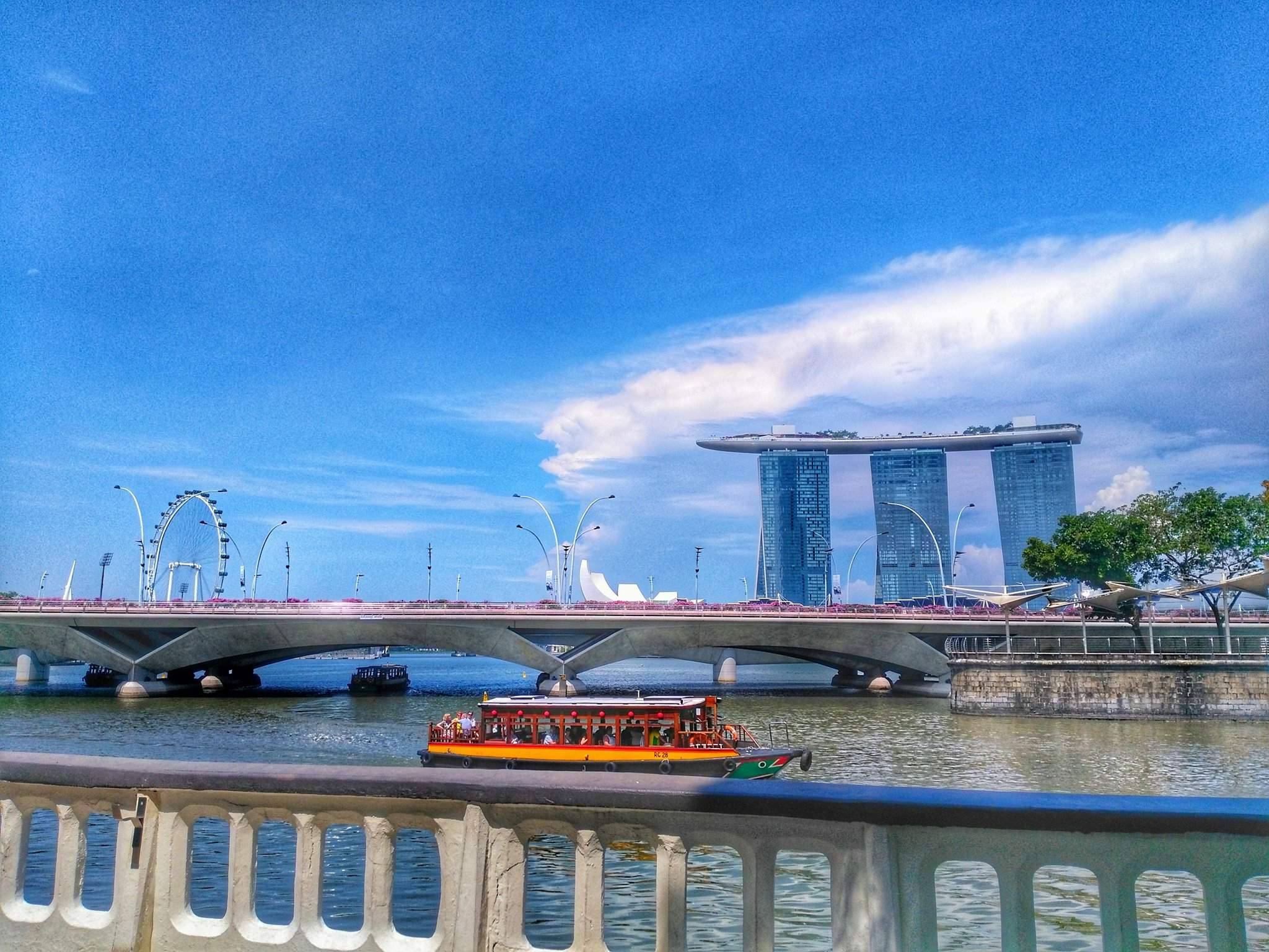 places to visit in Singapore in one day - Boat Quay