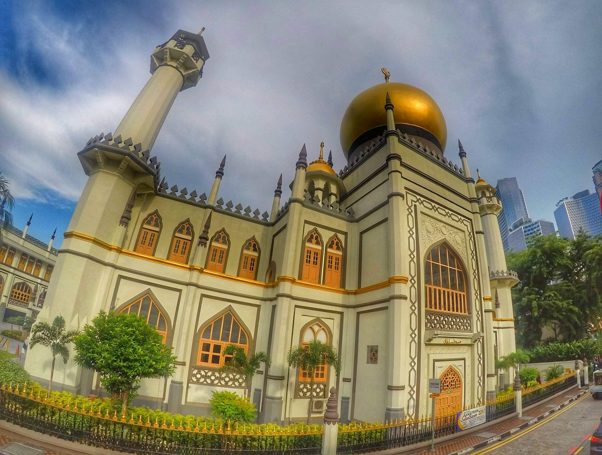 Singapore must see - Sultan Mosque Arab Quarter