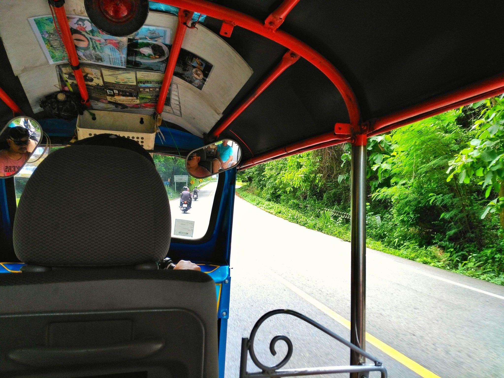 top 10 things to do in Chiang Mai - ride tuk tuk
