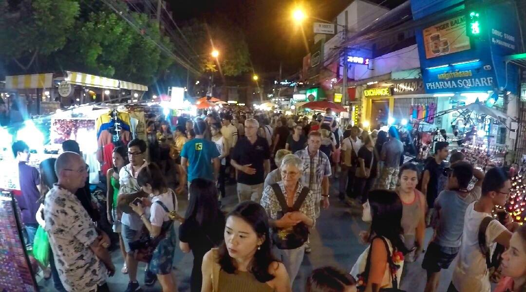 top 20 things to do in Chiang Mai - go to a night market