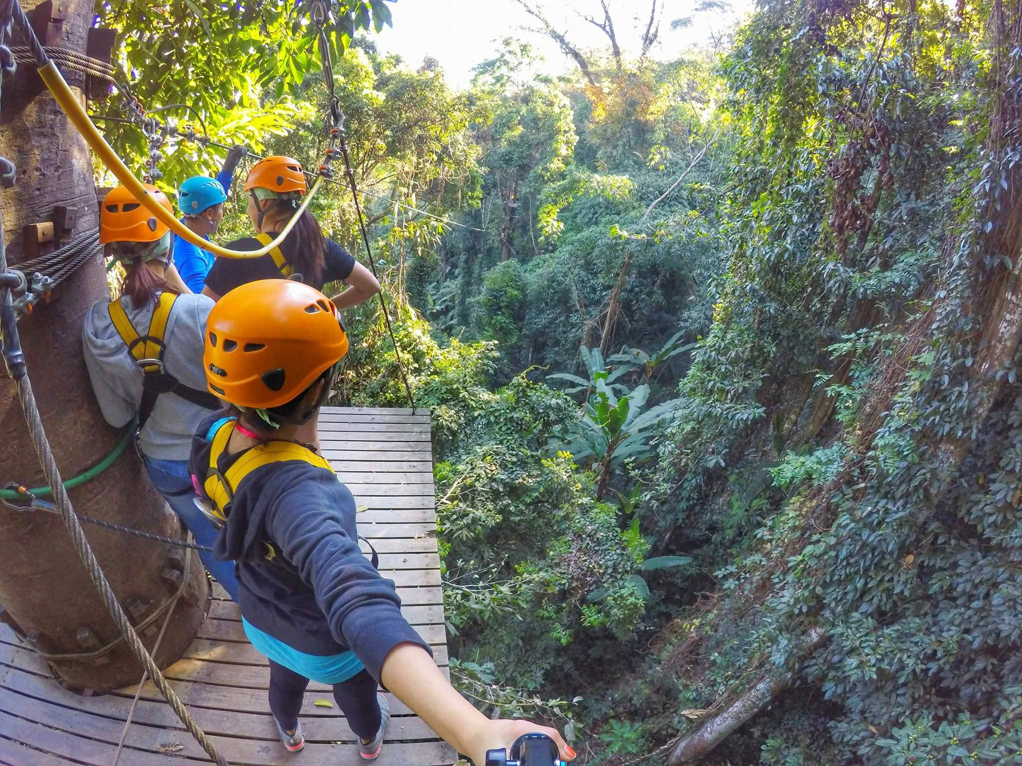 top 20 things to do in Chiang Mai - zipline