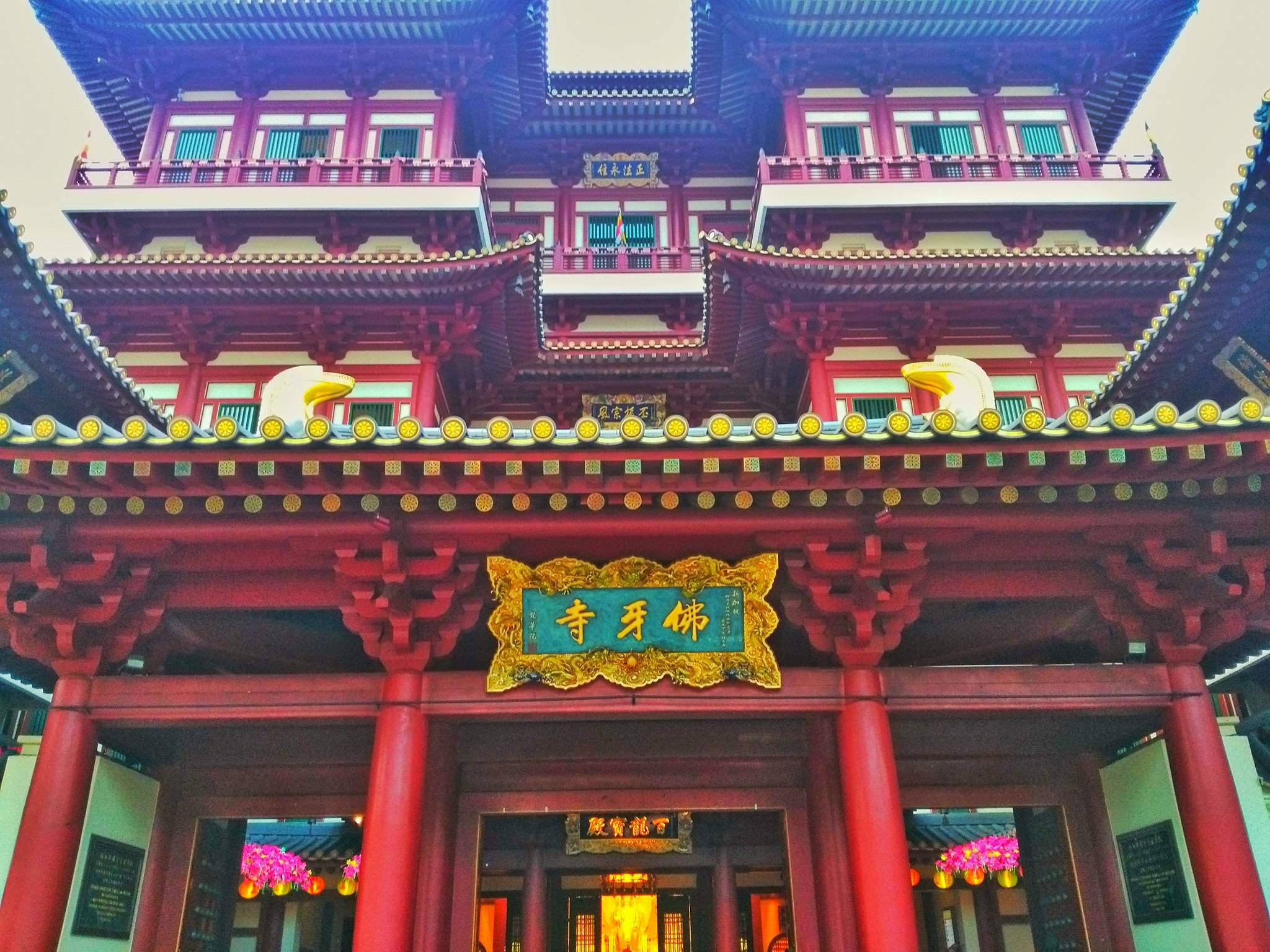 top ten places in Singapore - Buddha Tooth Relic Temple