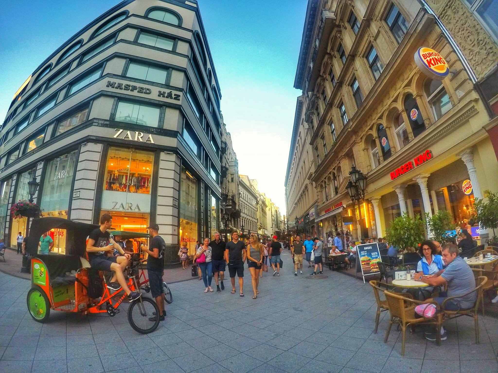 Top 10 Things To Do Budapest - Shopping street