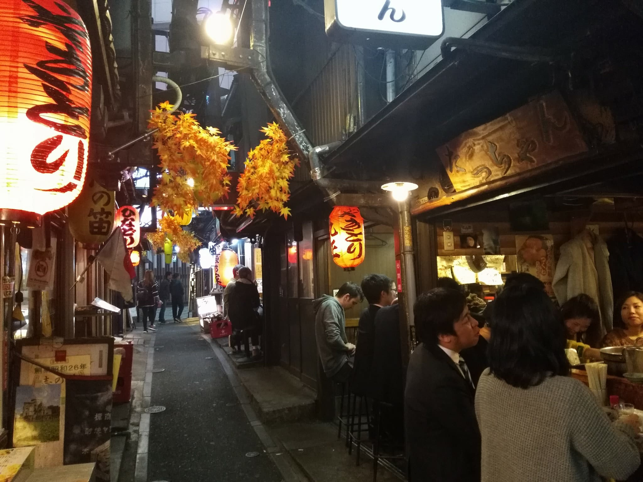 Tokyo 2 day itinerary - Piss Alley