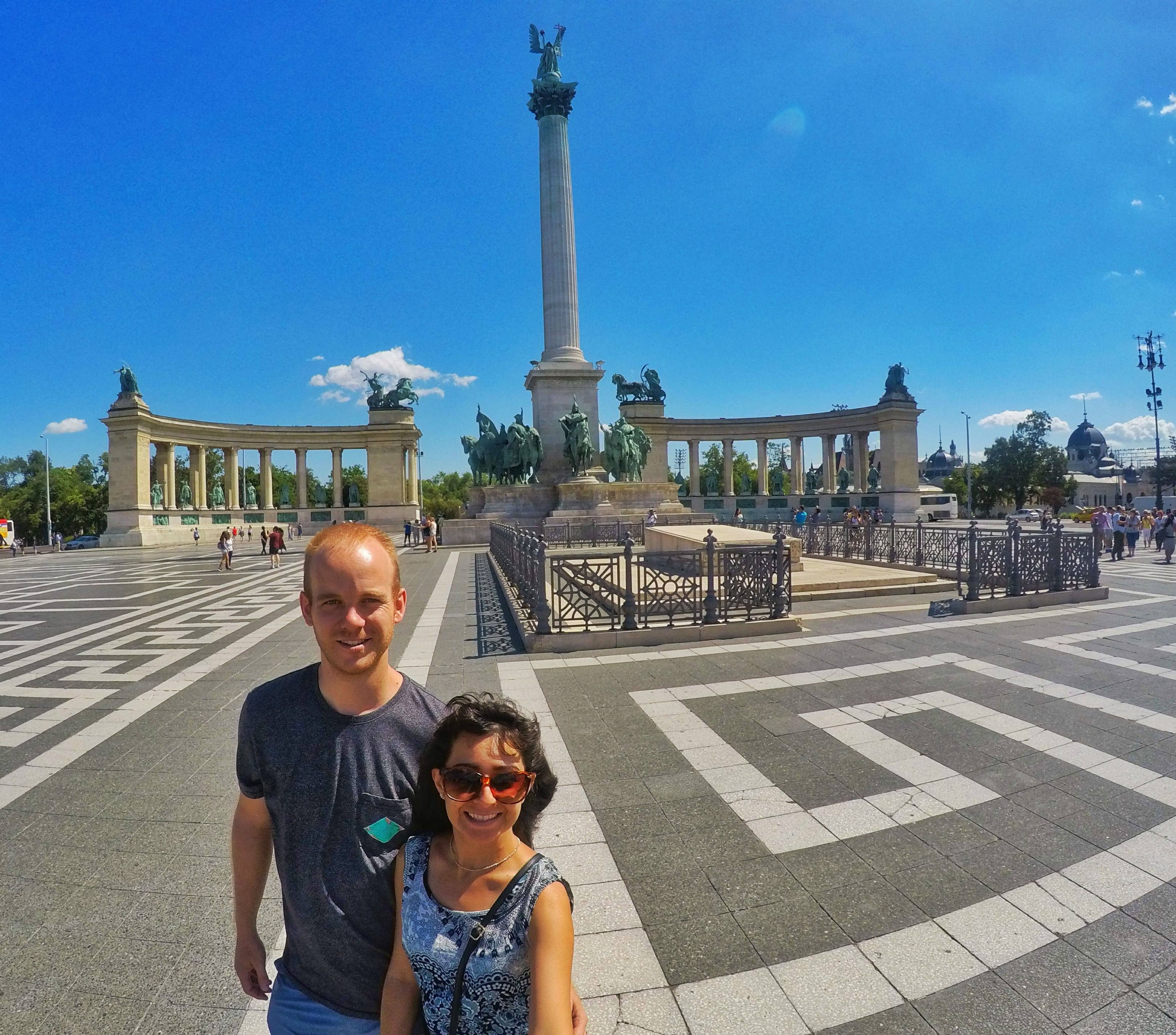 top 10 things to do in Budapest - Heroes Square