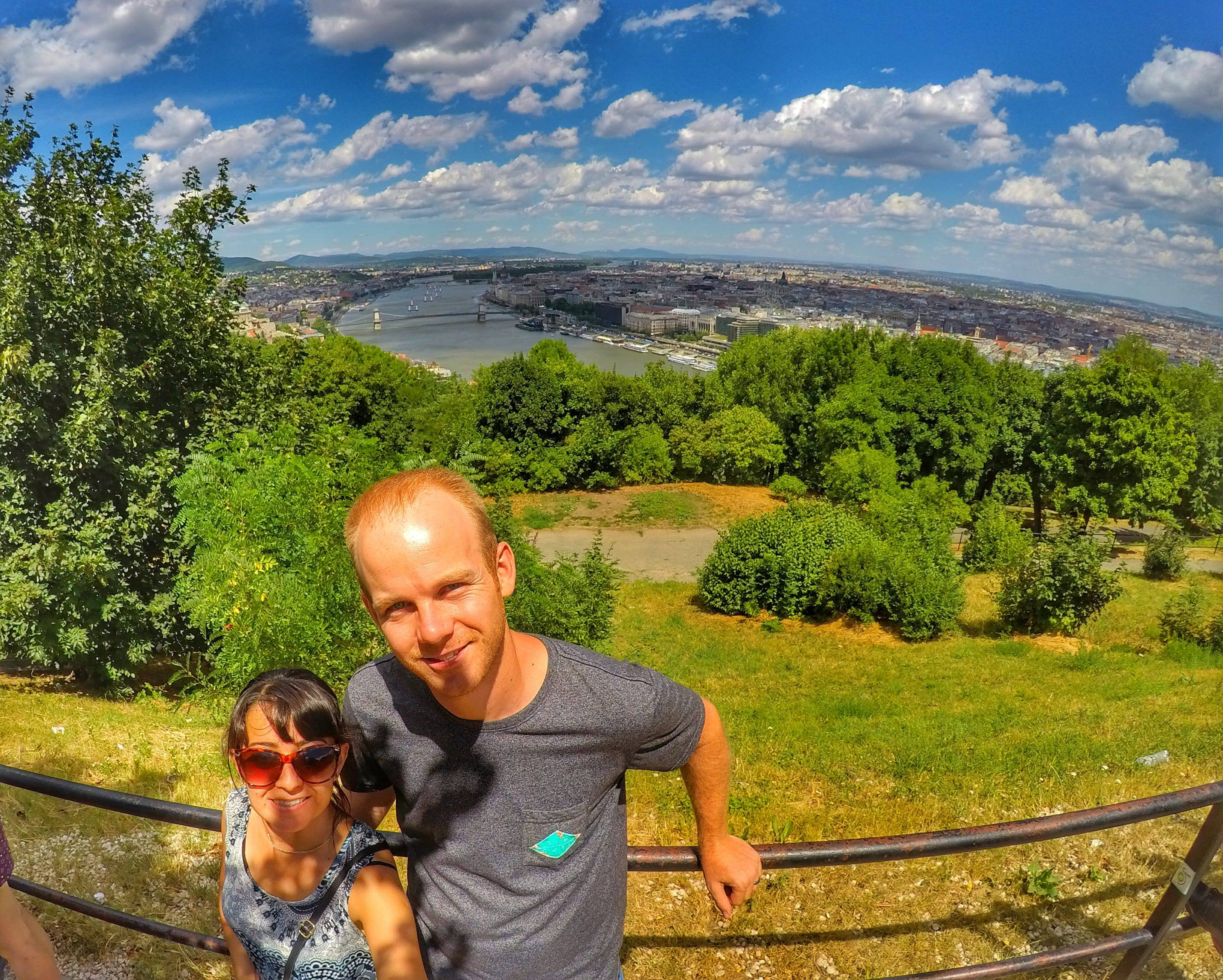 top 10 things to do in Budapest - views from the Citadella