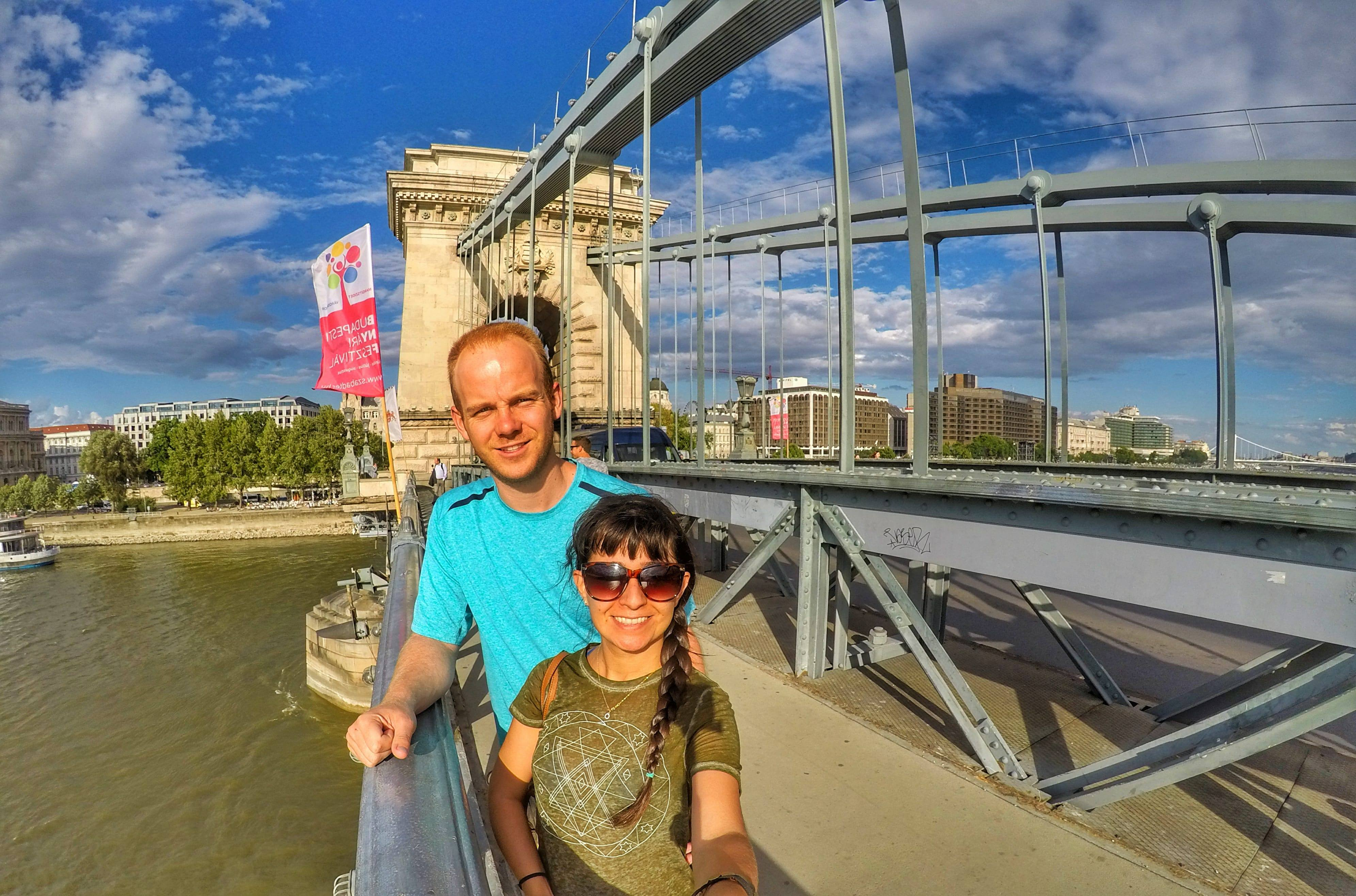 top 10 things to do in Budapest - walk across Chain Bridge