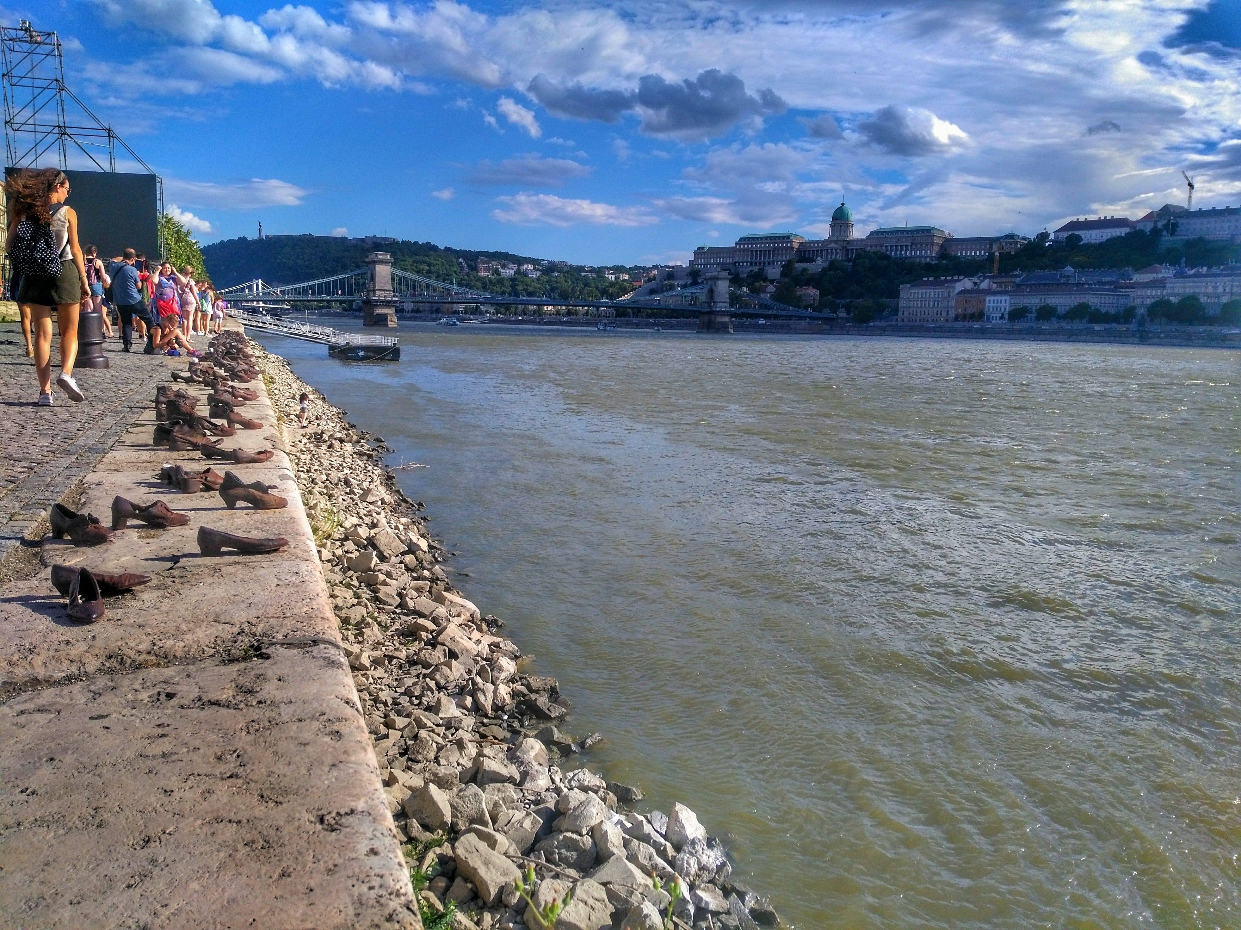 top 5 things to see in Budapest - Danube River Promenade