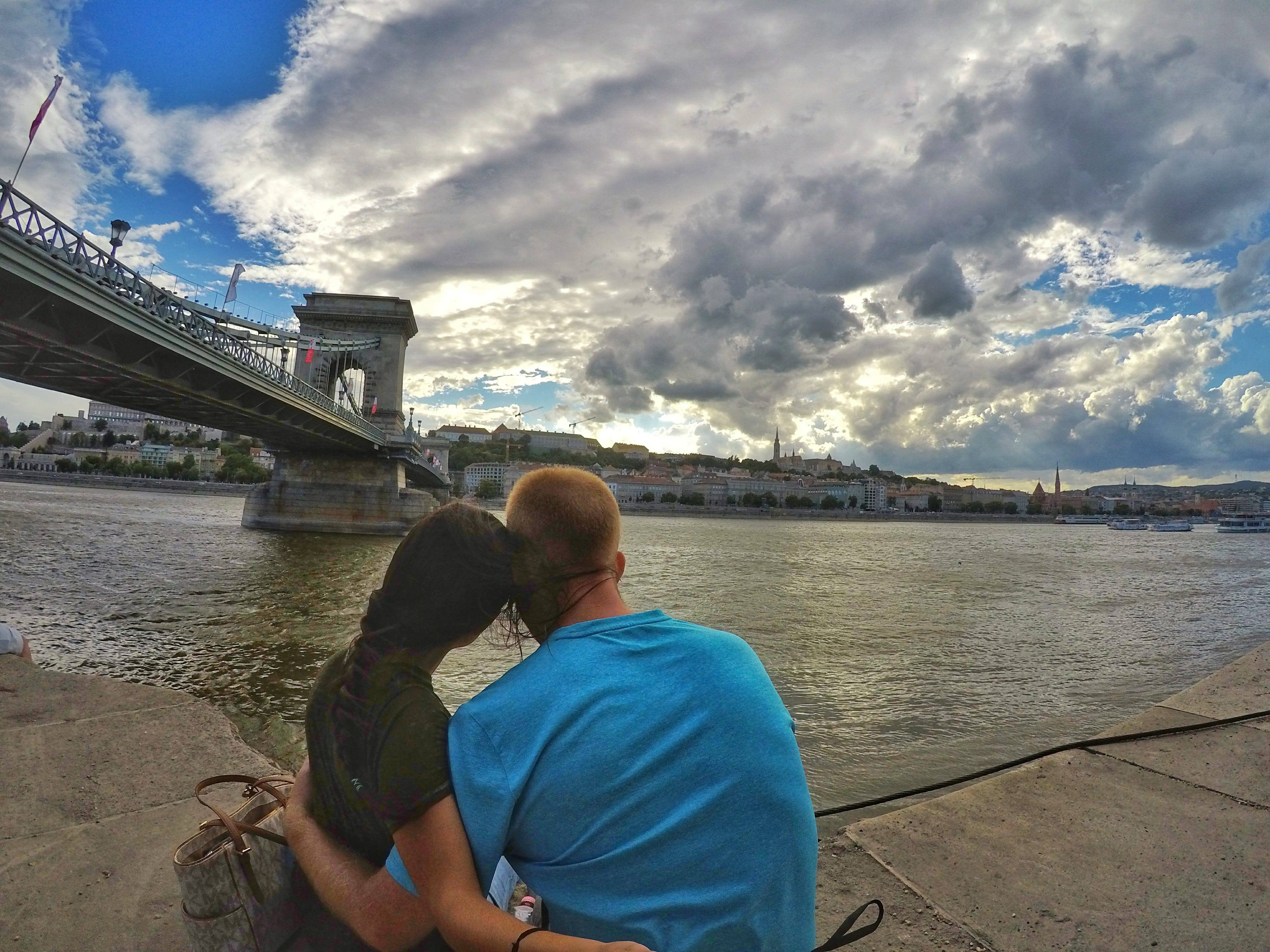 what to do in Budapest - Danube River and Chain Bridge