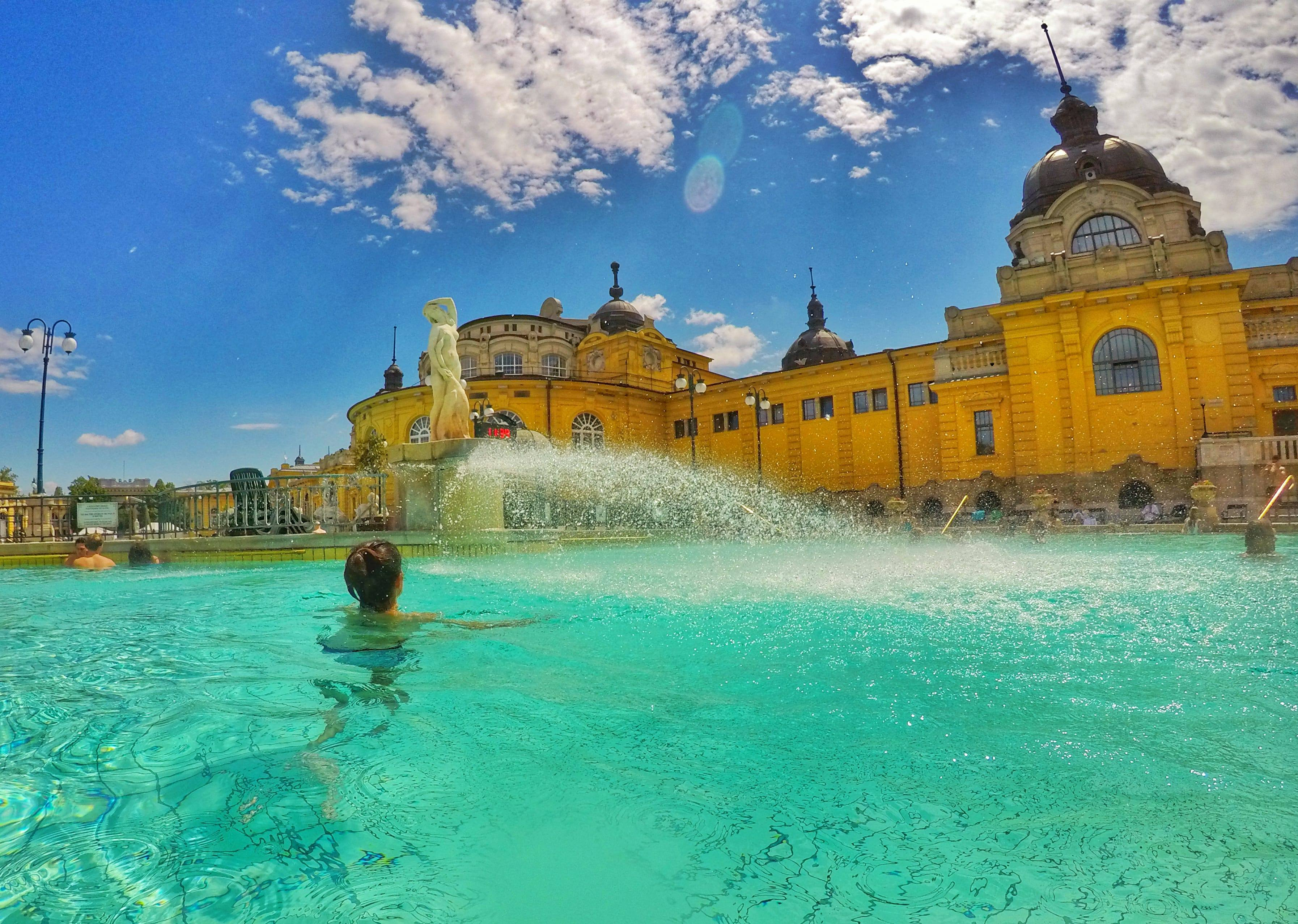 what to do in Budapest - Thermal Baths