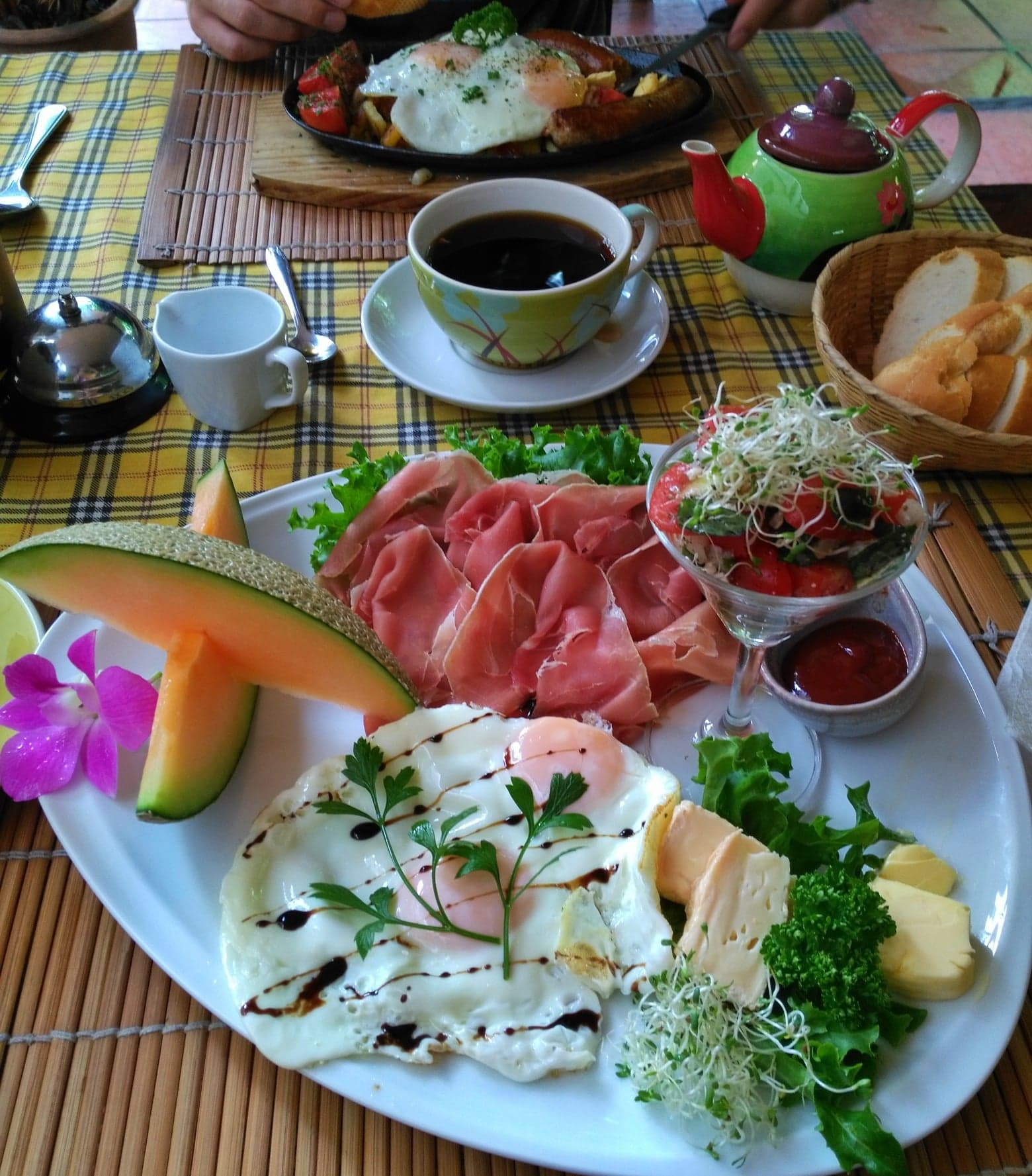 plan 2 week trip to Thailand - breakfast