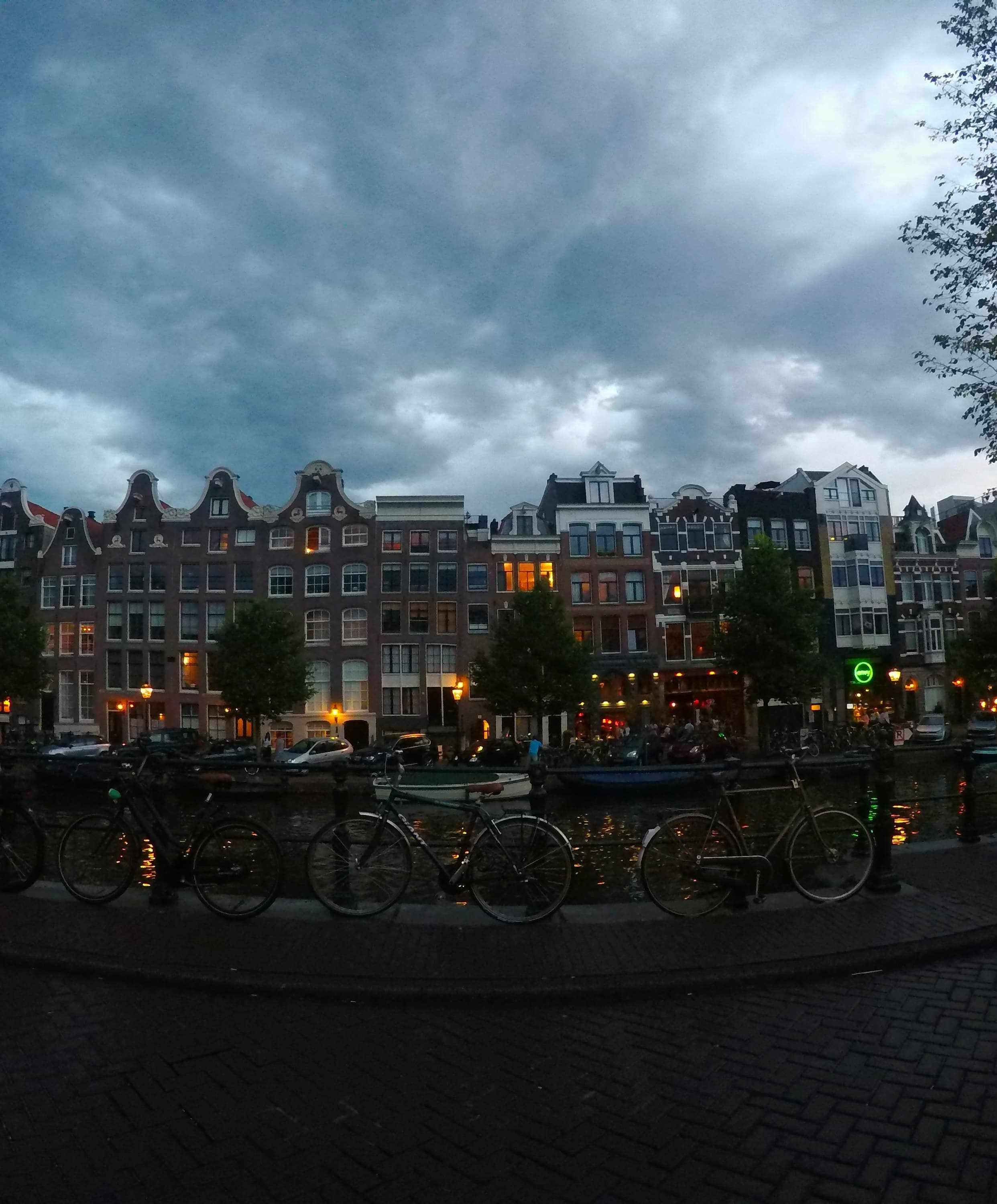 Airbnb benefits Amsterdam neighborhood