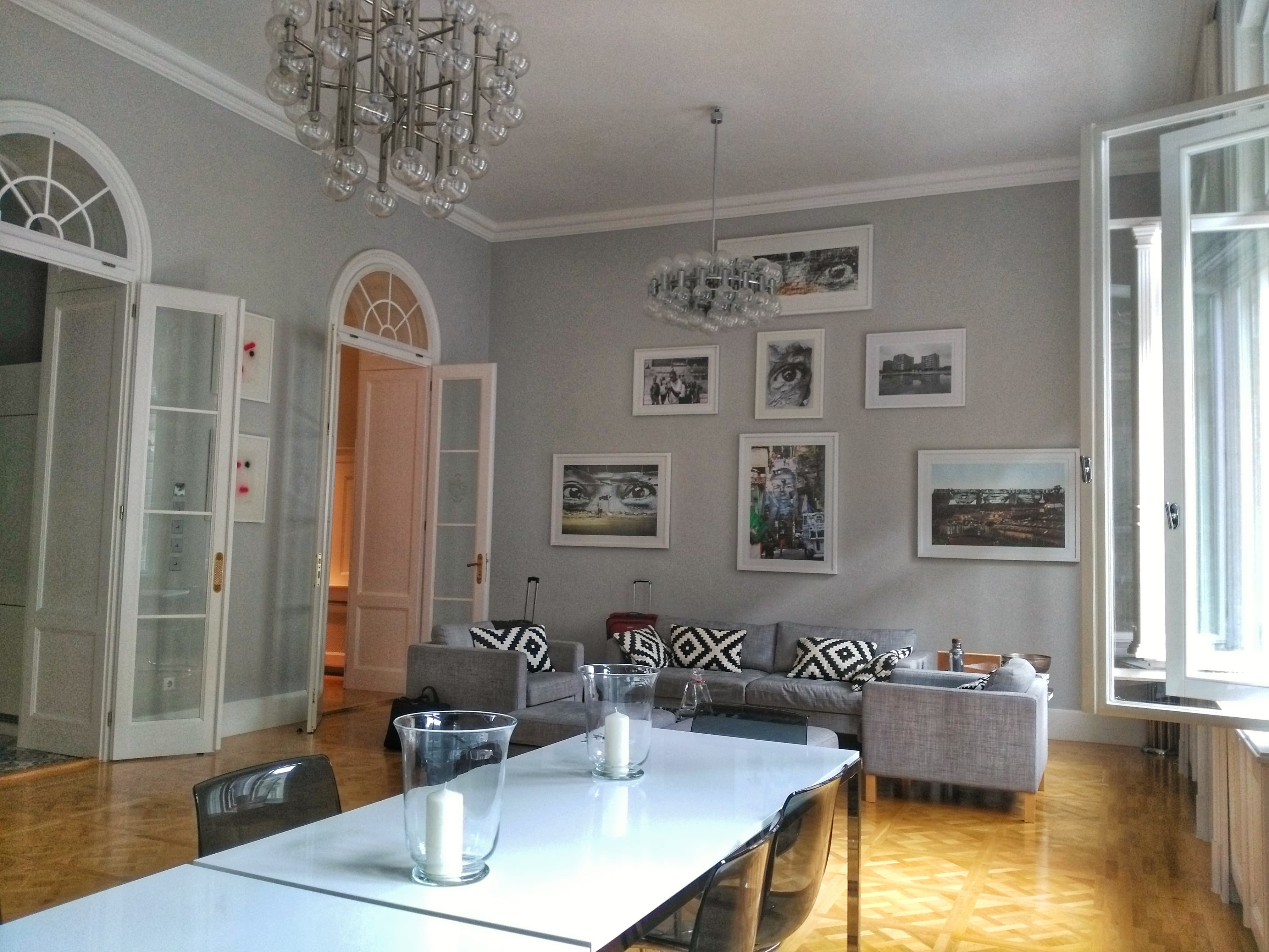Airbnb or hotel - inside apartment in Budapest