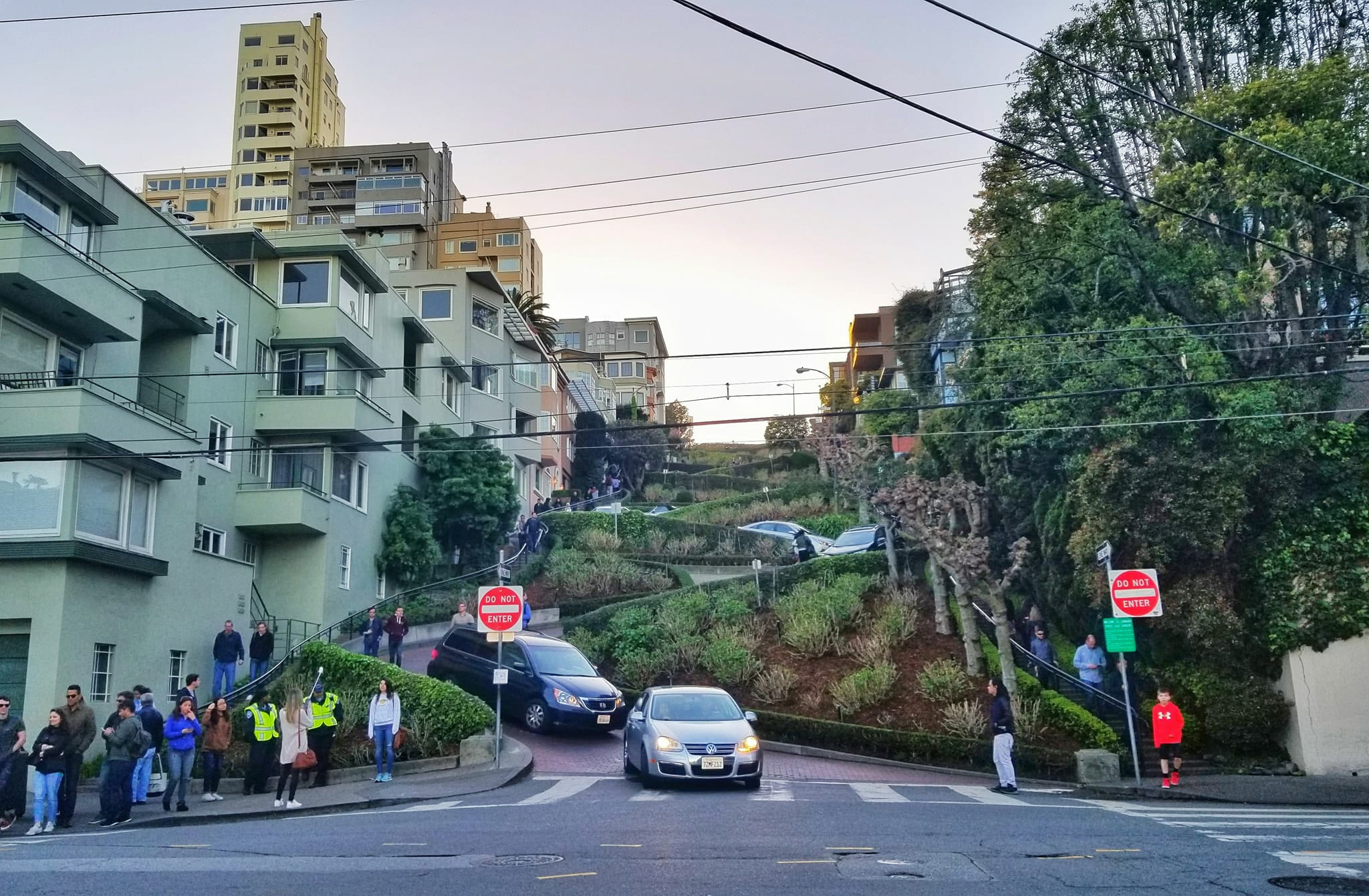 San Francisco in one day - Lombard Street