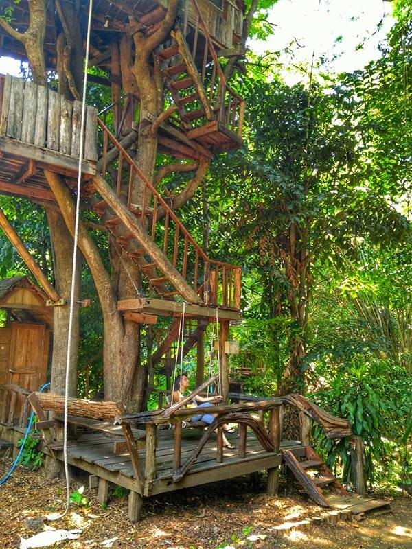 coolest places to stay in Thailand - Treehouse Resort