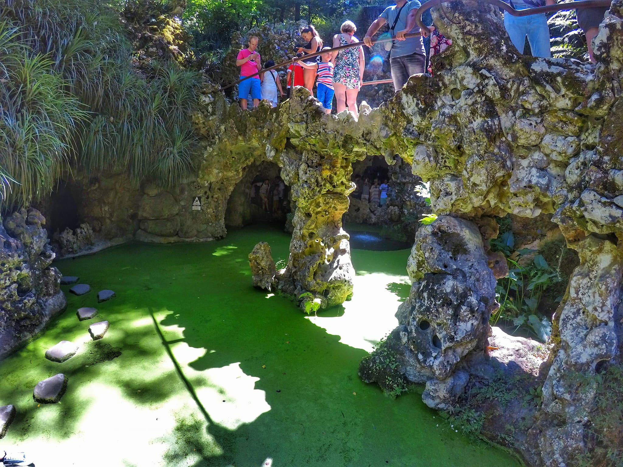 day trip from Lisbon - Quinta da Regaleira Garden in Sintra