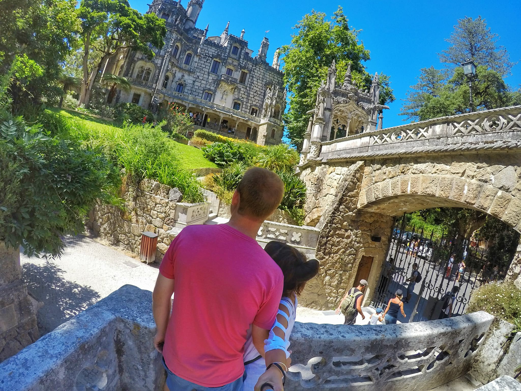 Day trip from Lisbon to Sintra - Quinta da Regaleira Estate