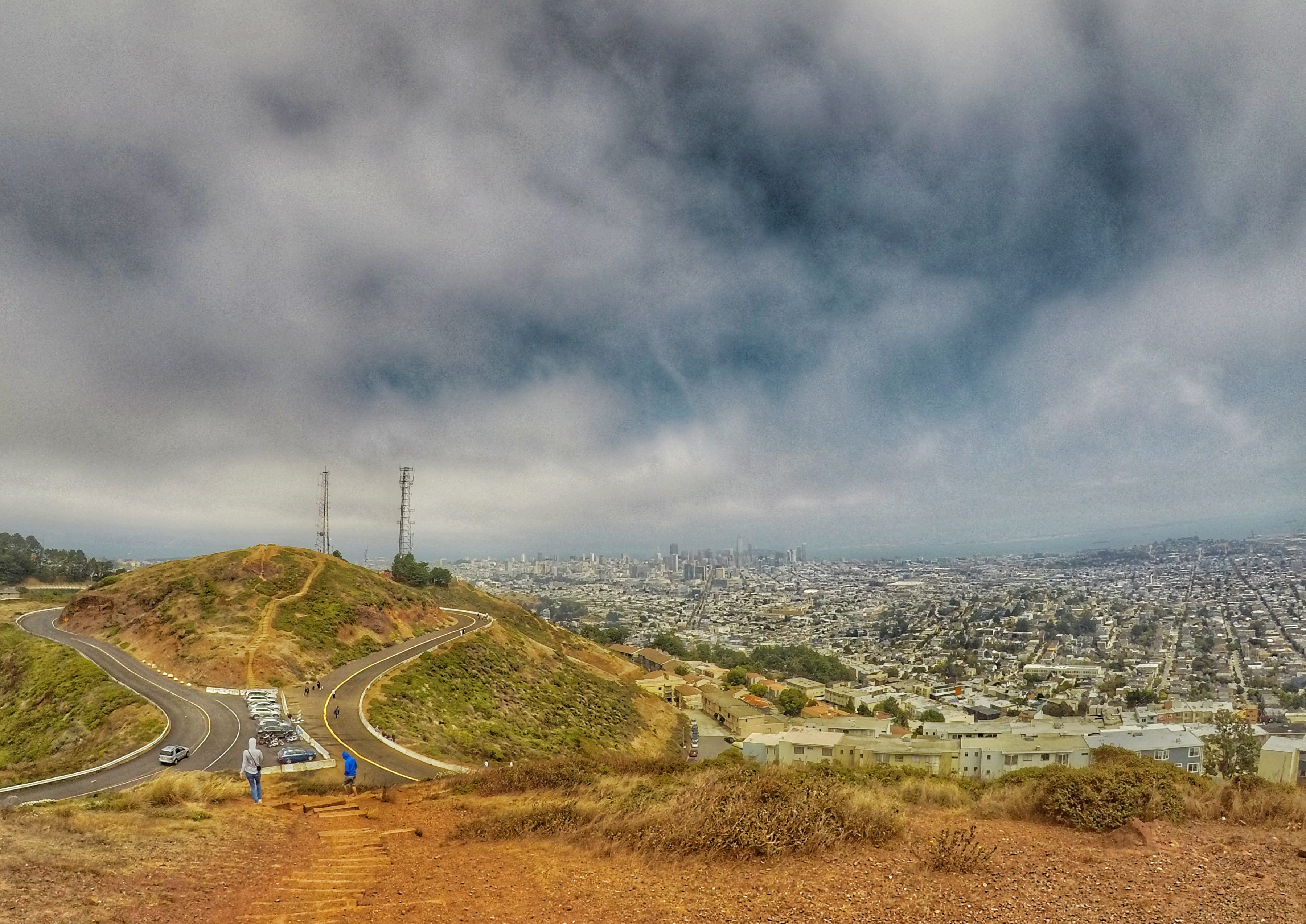 what to do in San Francisco in one day - Twin Peaks summit
