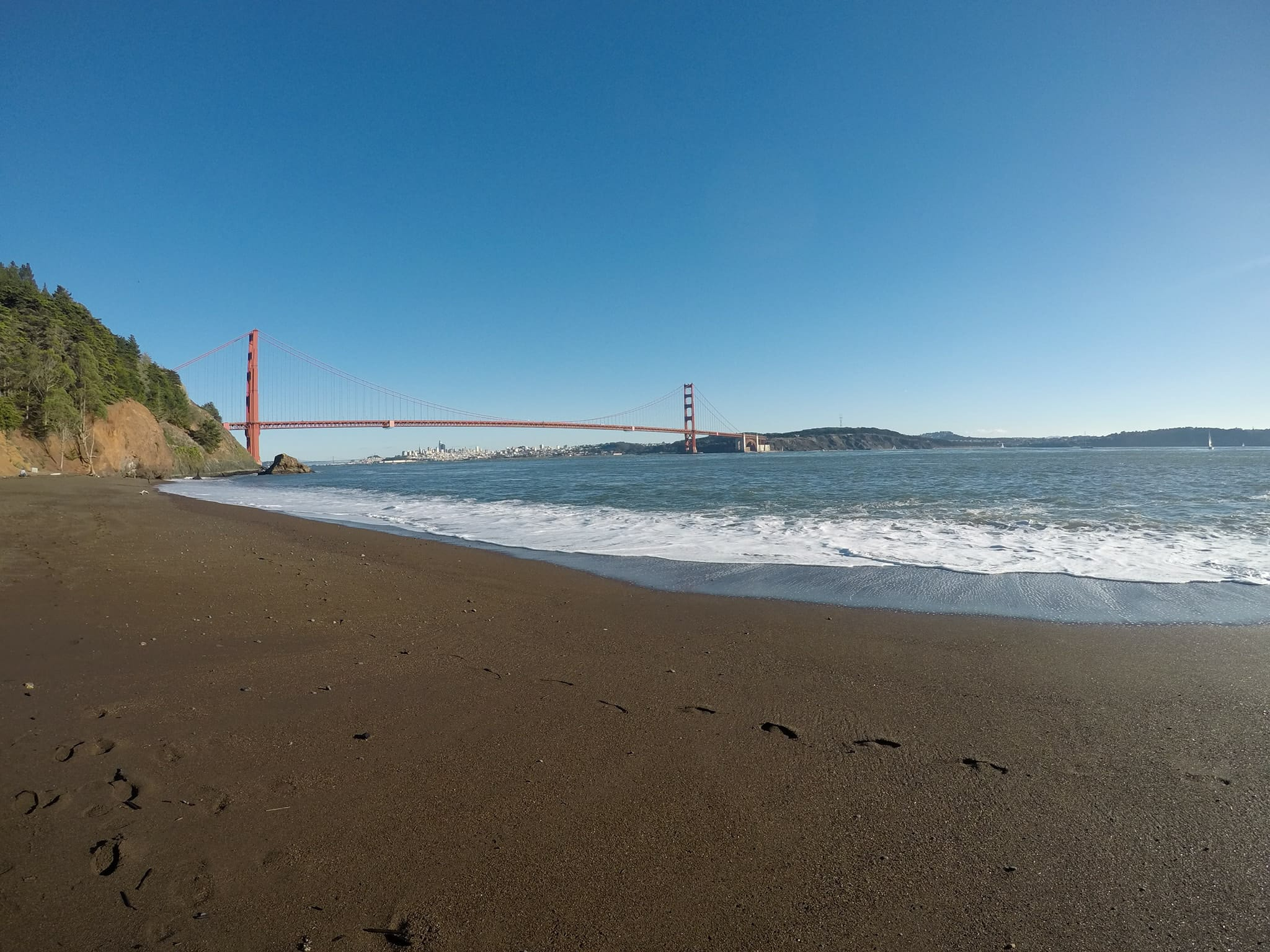 what to see in San Francisco in one day - Kirby Cove Beach
